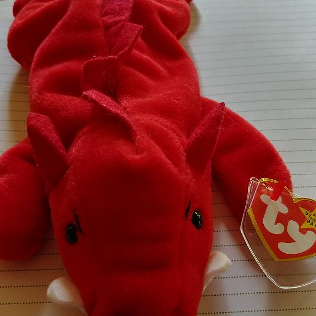 03e7237c7f1b3c Find more Grunt The Razorback Ty Beanie Baby Mwmt 4th Generation ...