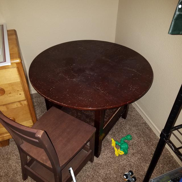 Best Kids Table 4 Chairs For In El