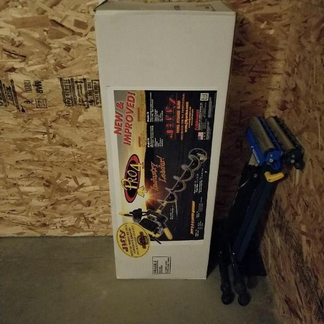 NEW Jiffy Pro 4 8 inch Propane Ice Auger