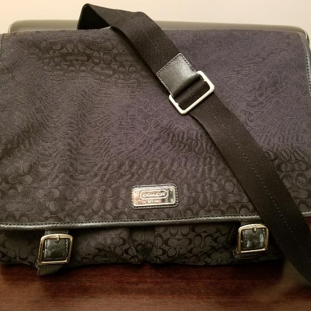 57ab6d56487d Best Coach Messenger laptop Bag for sale in Calgary