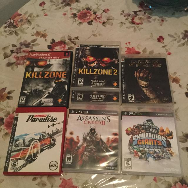 PlayStation 3 games 1 for 5 $ or all for 20