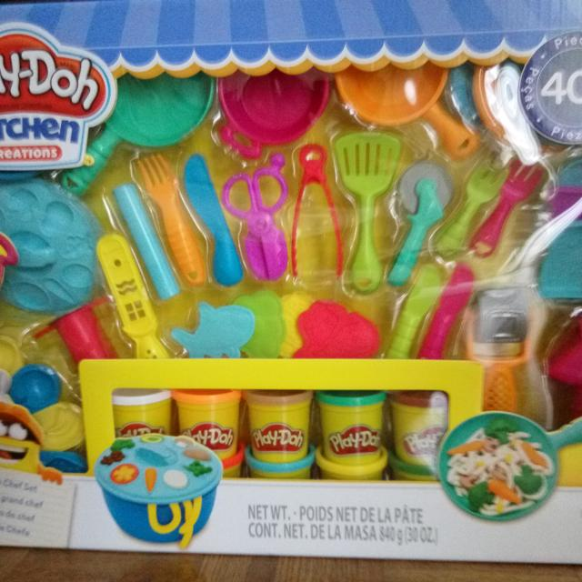 Find More Brand New Play Doh Kitchen Creations Ultimate Chef Set