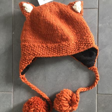 New NWT KNITWITS fox animal ears knit... for sale  Canada