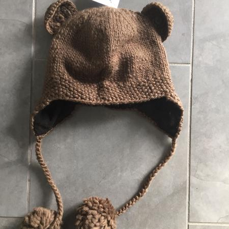 New NWT KNITWITS knit brown bear ears... for sale  Canada