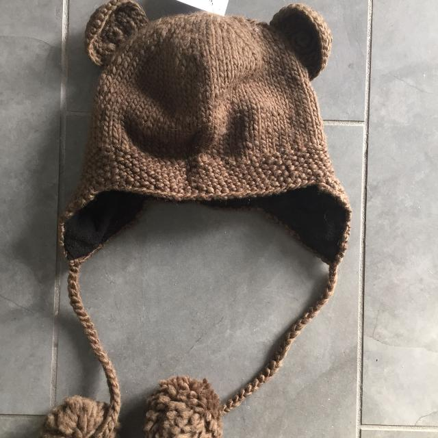 6964e0da5ed Best New Nwt Knitwits Knit Brown Bear Ears Animal Hat Toque Beanie Adult  Teens Kids Unisex for sale in Vancouver