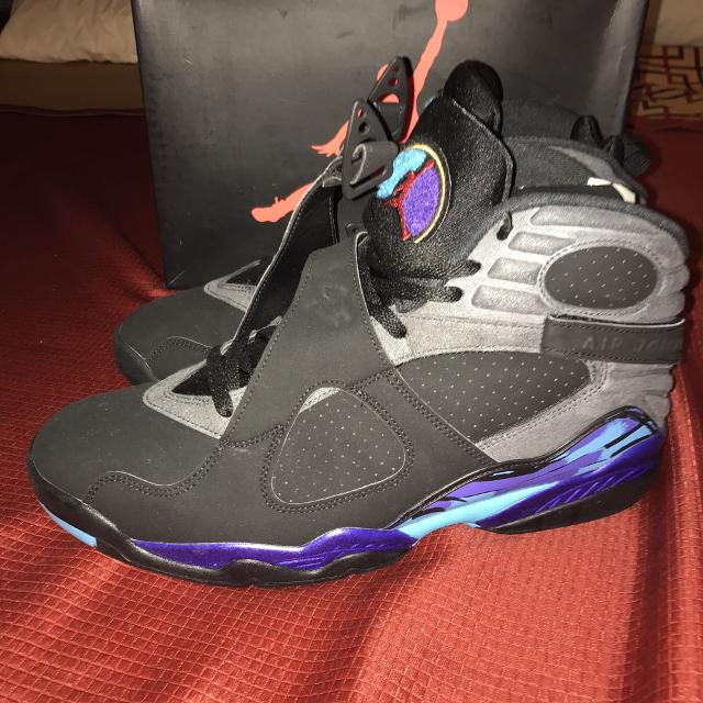 d692ae57ca371f Best Jordan Retro 8 Aqua for sale in Lakewood