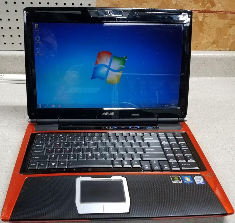 Best Asus Laptop G Series Windows 7