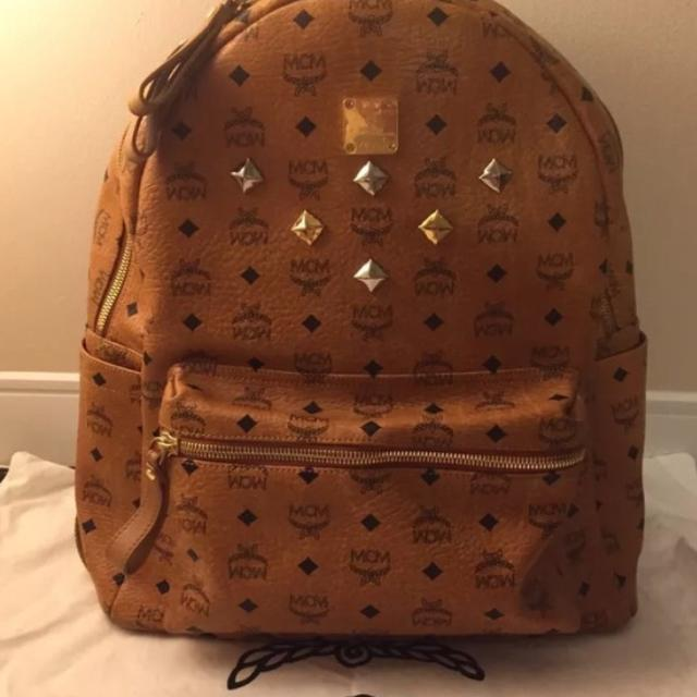 100 Authentic Mcm Bookbag Paypal Payment Only