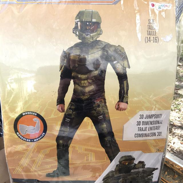 Halo Wars Master Chief costume, sz 14:16