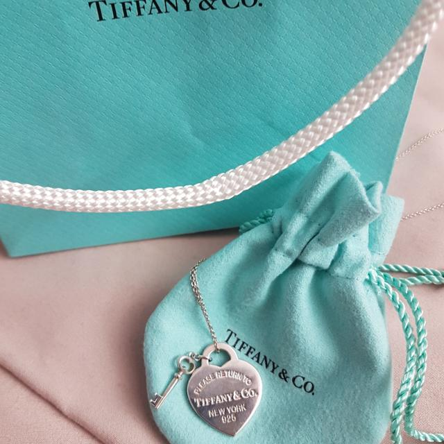 Find more tiffany co heart tag and key pendant for sale at up to tiffany co heart tag and key pendant aloadofball Image collections