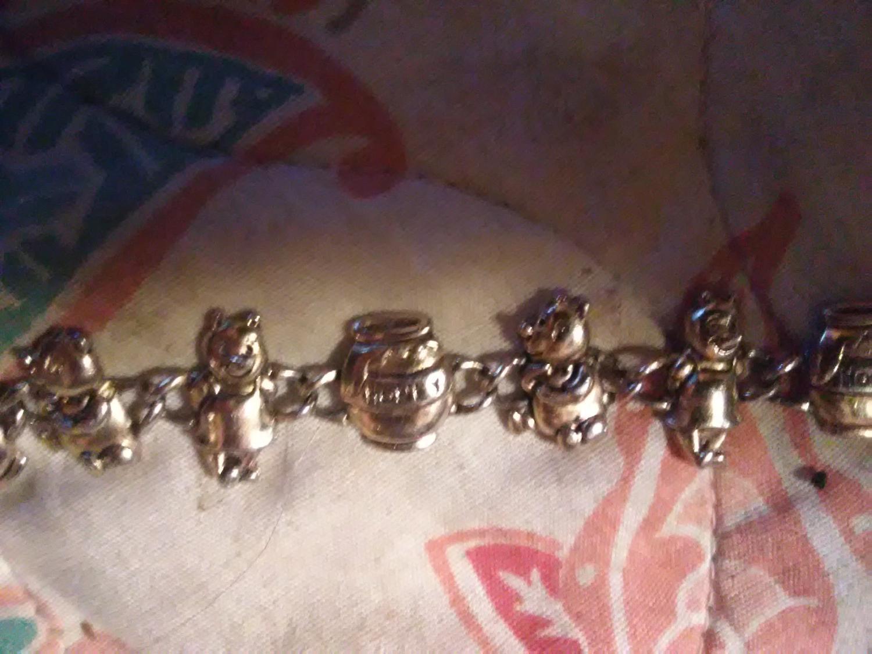 Winnie The Pooh Charm Bracelet