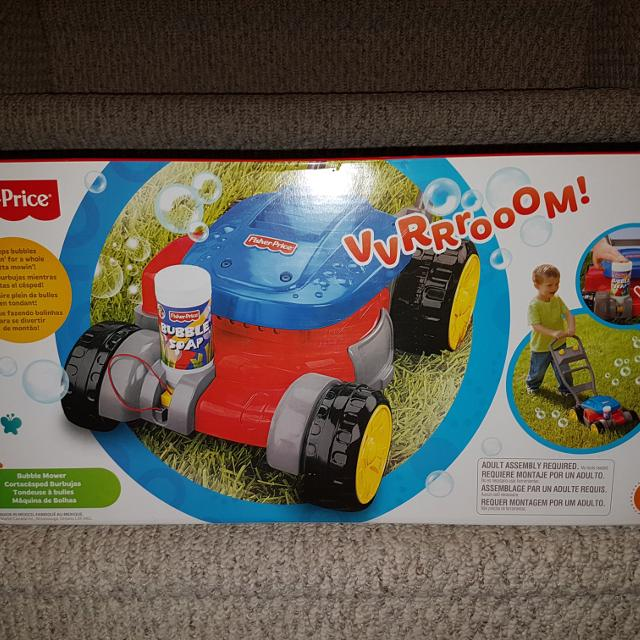 Find More Bnib Fisher Price Bubble Mower For Sale At Up To 90 Off
