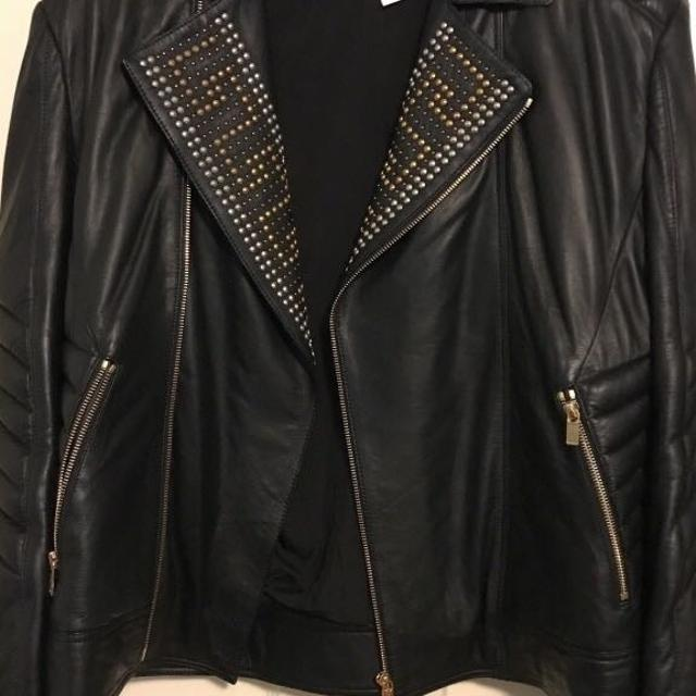 86cb1ee4d114 Best Versace X H m Men s Leather Jacket Size L for sale in Vaughan ...