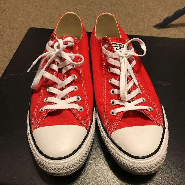 46e1858dc909 Find more Men s Red Converse Size 13 for sale at up to 90% off