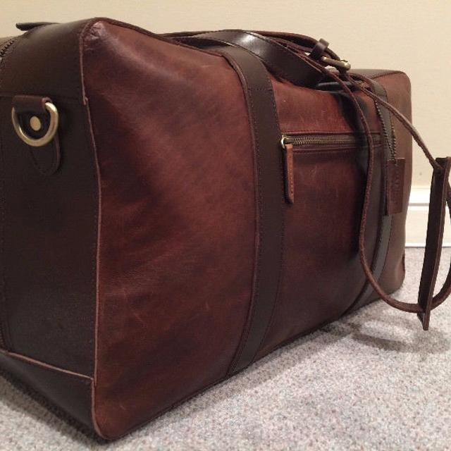 073373c28543 Find more Danier Leather Business Duffel Bag for sale at up to 90% off