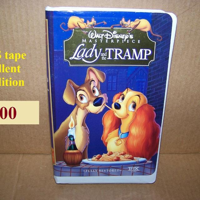 Best Lady And The Tramp Walt Disney Vhs Video Tape For Sale In Morton Illinois For 2020