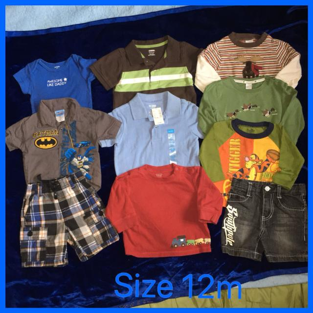 6dff08d40 Find more Lot Of Baby Boy's Shirts And Shorts: Gymboree, Janie ...