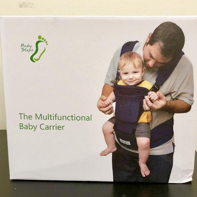 Baby Steps Multifunctional Baby Carrier With Hip Seat