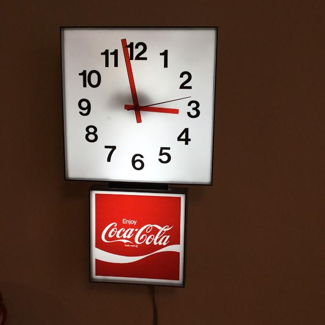 Find more coca cola 1970s light up wall clock for sale at up to 90 off coca cola 1970s light up wall clock aloadofball Image collections