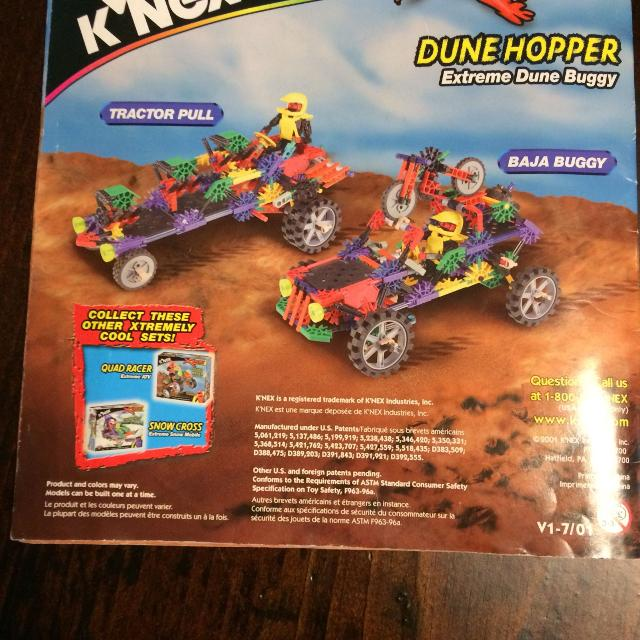Best Knex Extreme 12022 Dune Hopper And Motorcycle Building Kit
