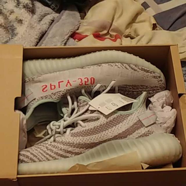 97aa12b456f2b Find more Adidas Yeezy Boost V2 Blue Tint 10.5 New Nike Basketball ...
