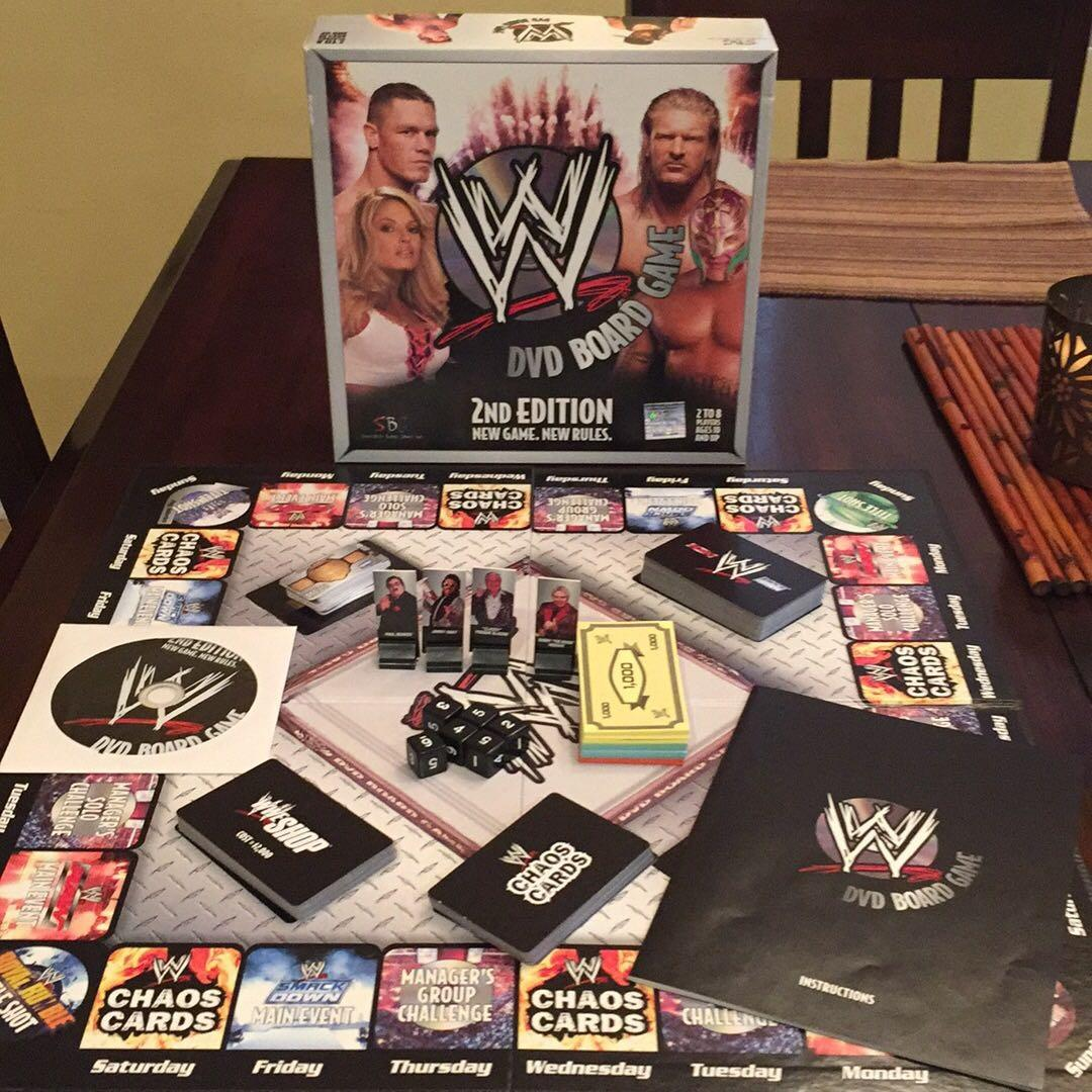 Best Wwe Dvd Board Game For Sale In Moreno Valley California For 2020