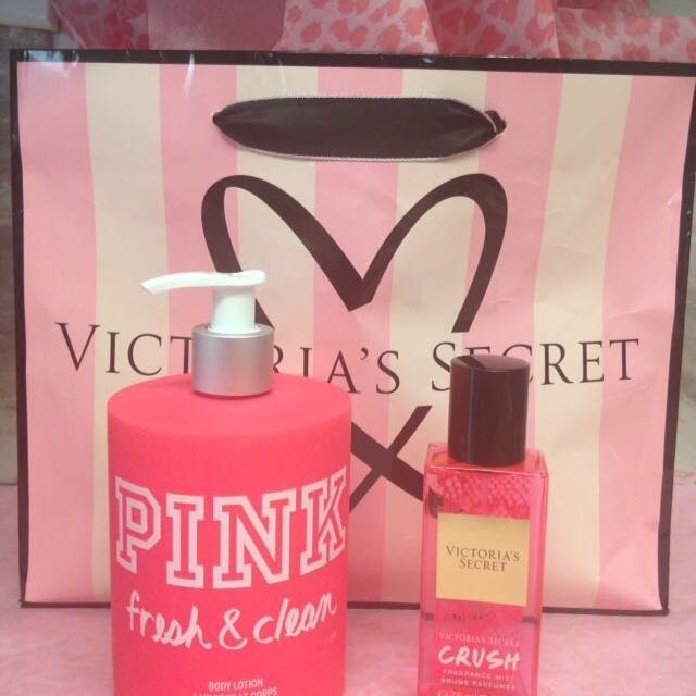 Find More Victoria Secret Pink Body Lotion Pump Crush Perfume
