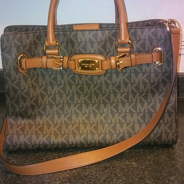c831f43b0e24 Best Michael Kors Purse Hamilton Handbag Ew Tote Large Brown Bag for sale  in Chula Vista