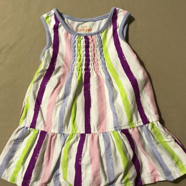 f0b30844a Best Cat & Jack Baby Girl Dress With Bloomers 3-6 Months New! for sale in  Pensacola, Florida for 2019