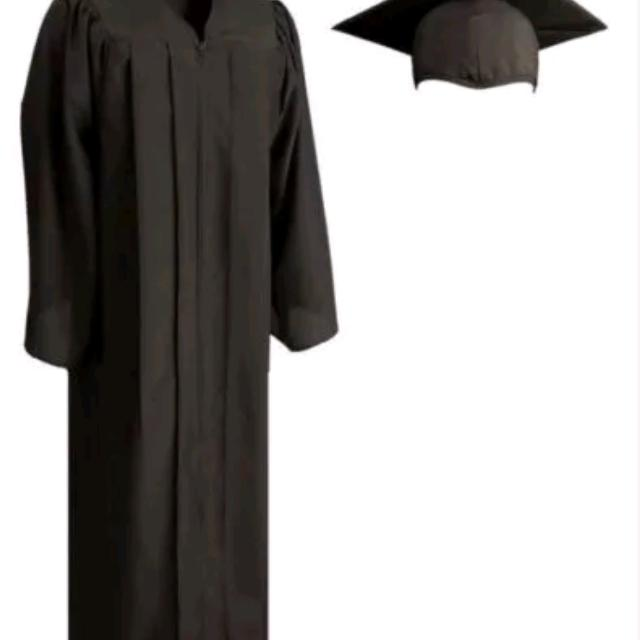 Find more New Herff Jones Black Graduation Cap And Gown for sale at ...
