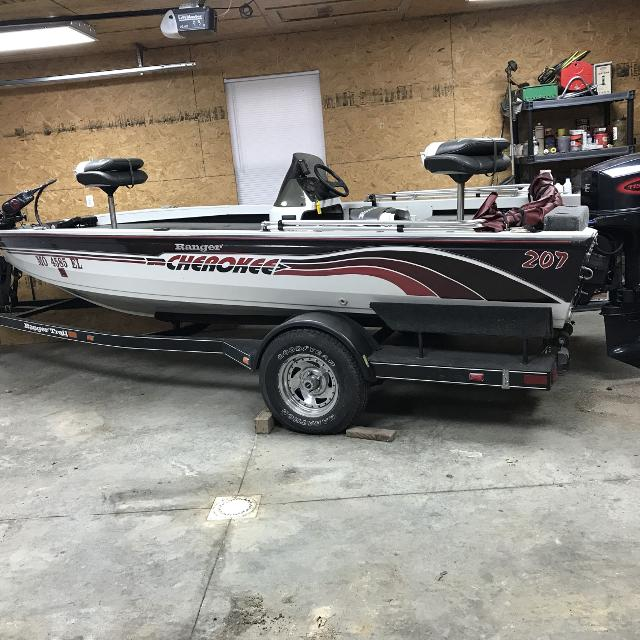 Ranger R70: Find More 1998 Ranger Cherokee 207 Bass Boat For Sale At