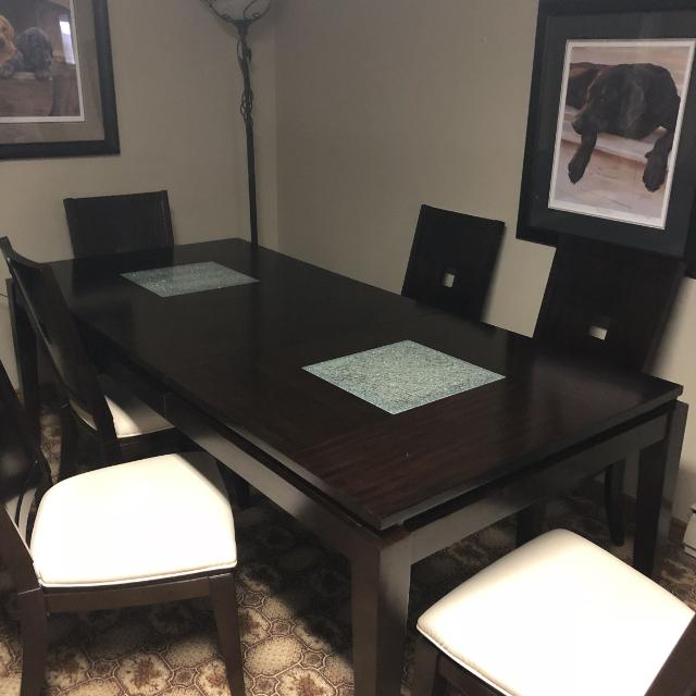 Best Dining Room Table W Cracked Glass Inserts For Sale In Sarnia Ontario For 2021