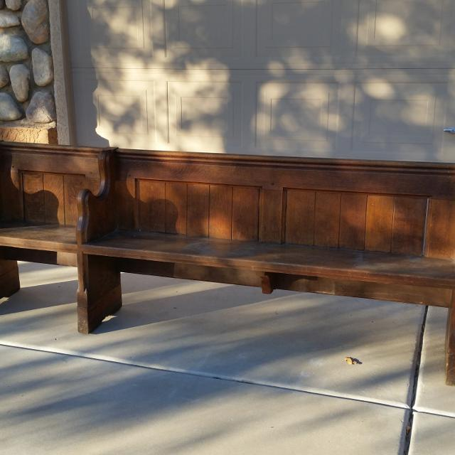 Antique Church Pew For In Surprise