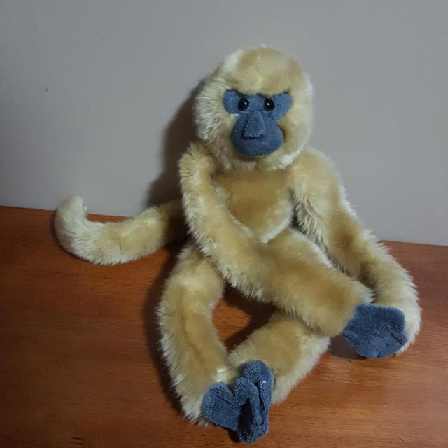 Best Monkey Plush With Velcro Hands And Feet Gc For Sale In Victoria