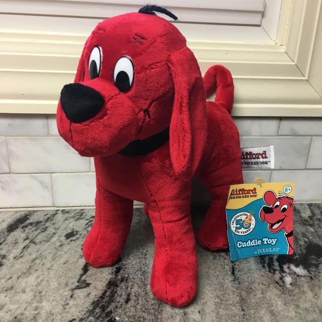 Find More New W Tags Clifford The Big Red Dog Plush Toy Stuffed