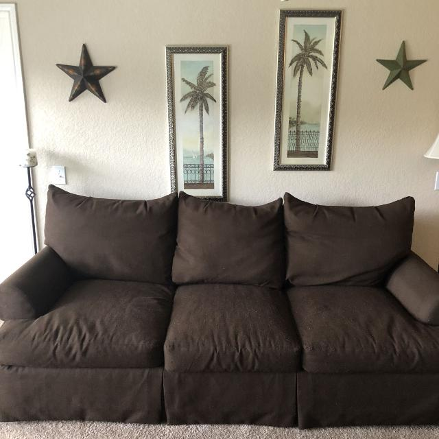 Find More Chocolate Brown Comfy Couch For Sale At Up To 90