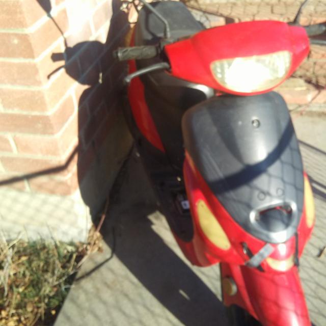 2013 taotao 50cc moped