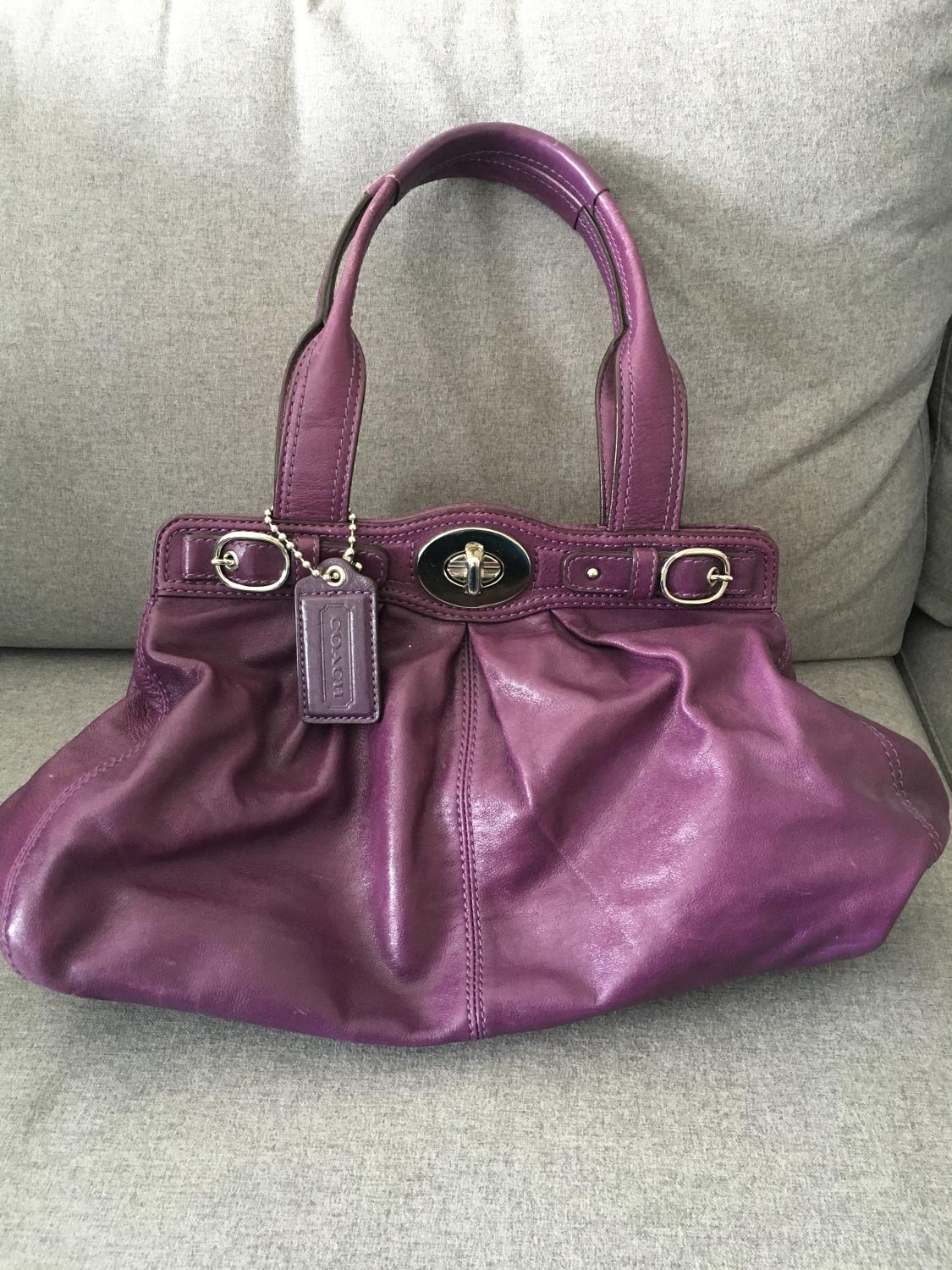 24d29a35c4be Best Purple Coach Purse for sale in Calgary