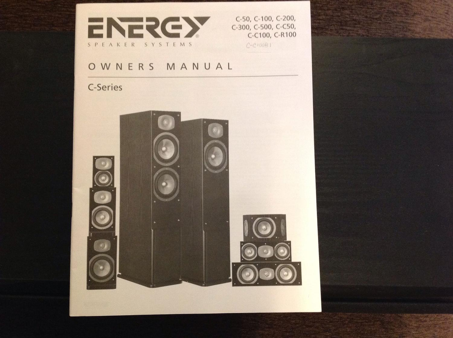 Find more Energy Speaker Systems' C-series Center Speaker for sale at up to  90% off