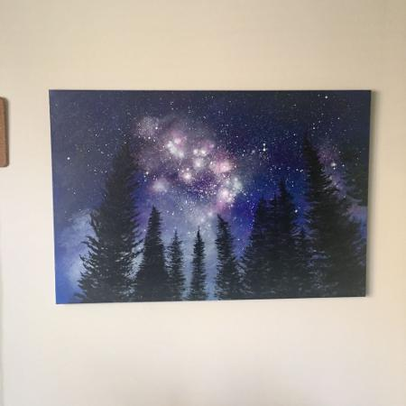 View of the galaxy from the trees for sale  Canada