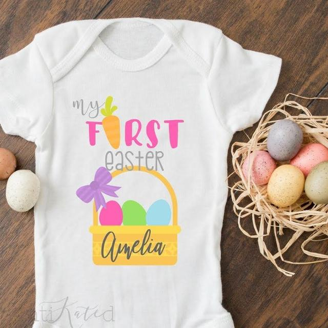 dff732dbe Best Personalized Kids Easter Shirts for sale in Monroe, North Carolina for  2019