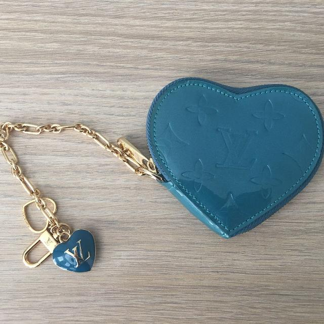 0e06be85747d Best Used Louis Vuitton Heart Coin Purse Galactic Blue for sale in Markham
