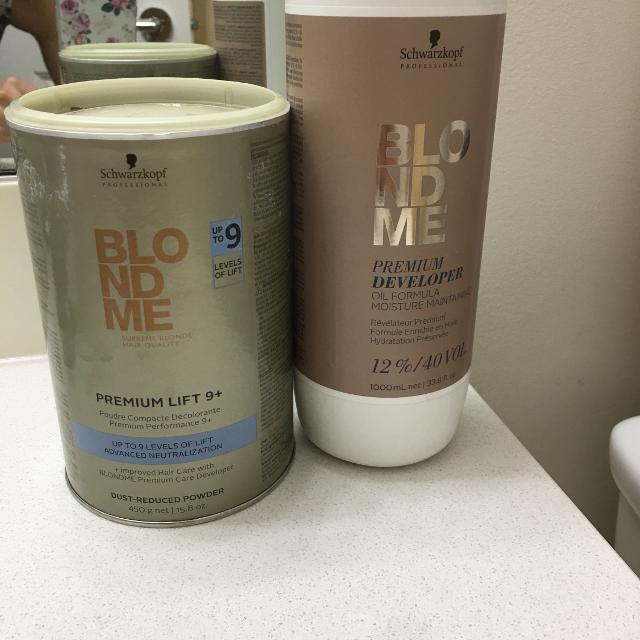 Find More Blondme Premium Lift 9 Bleach And Developer For Sale At