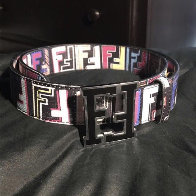 53f2c89b Multicolor Fendi Belt - fits 30-36