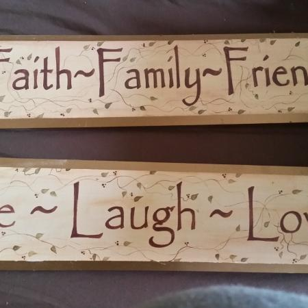 Inspirational plaques 10 obo for sale  Canada