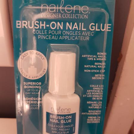 Brush on nail glue, used for sale  Canada
