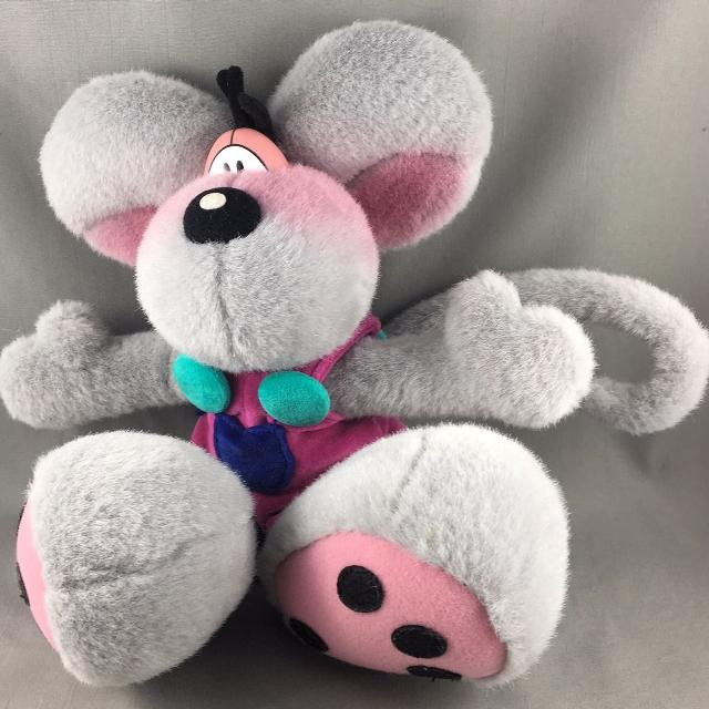 Best Diddl Mouse German Cartoon Character Plush Toy for sale in Victoria 34ce09874