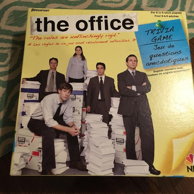 the office trivia game and dvd game
