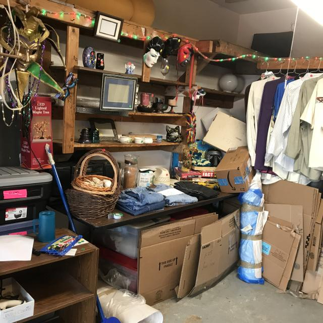 House hold items and clothing