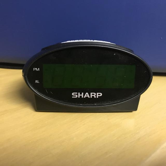 Sharp Alarm Clock $2 Box J
